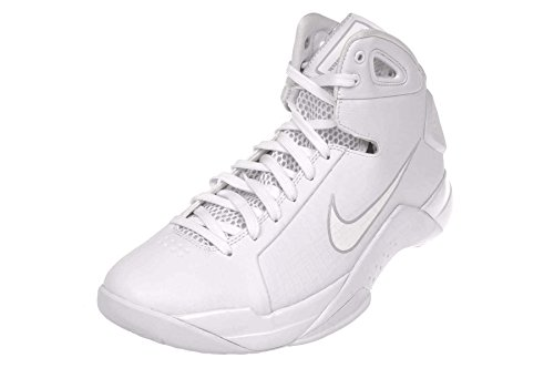 Image of the Nike Mens Hyperdunk 08 Basketball Shoe-White/White-PurePlatinum-10