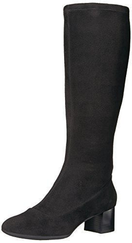 Image of the Rockport Women's Total Motion Novalie High Riding Boot, Black, 9.5 M US