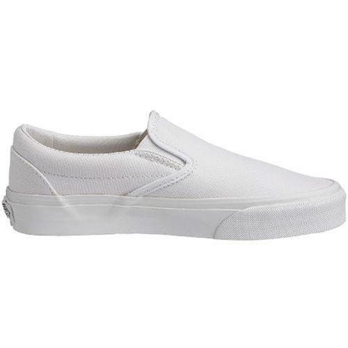 Image of the Vans Men Classic Slip-On (White/True White)