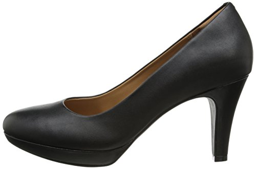 Image of the Clarks Women's Brier Dolly Dress Pump, Black Leather, 7 M US