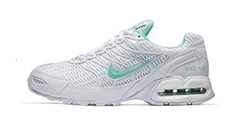 Image of the NIKE Women's Air Max Torch 4 Running Shoes (8 B(M) US, White/Mint)