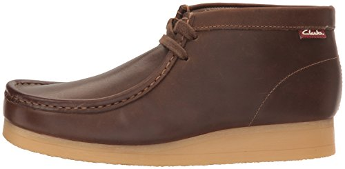 Image of the Clarks Men's Stinson Hi Chukka Boot,Beeswax Leather,9 M US