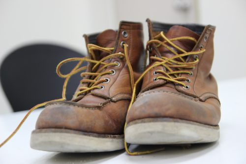 Work boots - occupational shoes and boots category