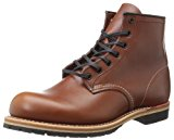 Image of the Red Wing Heritage Men's Beckman 6-Inch Round Lace Up, Cigar Featherstone, 7 D US