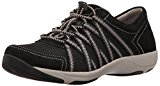 Image of the Dansko Women's Honor Fashion Sneaker, Black Suede, 39 EU/8.5-9 M US