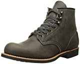 Image of the Red Wing Heritage Men's Blacksmith Work Boot, Charcoal Rough and Tough, 7 D US