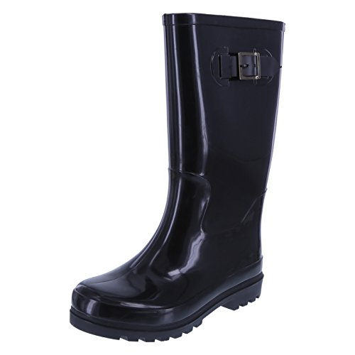 Image of the Rugged Outback Women's Black Women's Tsunami Rainboot 7 Regular