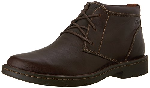Image of the Clarks Men's Stratton Limit Chukka Boot,Brown,10.5 ...