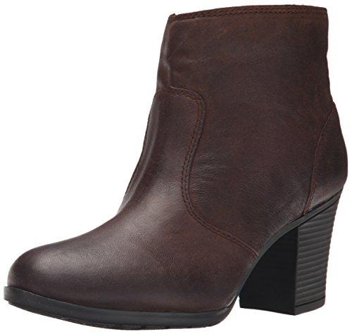 Image of the Rockport Women's City Casuals Catriona Zip Bootie Ebano Dist Goat Boot 8.5 W (C)