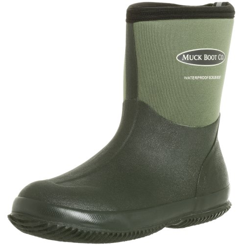 Image of the The Original MuckBoots Adult Scrub Boot,Garden Green,7 M US Mens/8 M US Womens