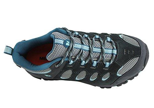 Image of the Merrell Women's Ridgepass Hiking Shoes (5 B(M) US, Granite/Eggshell)