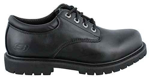 Image of the Skechers Men's Work Relaxed Fit Cottonwood Elks SR,Black,US 15 M