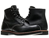 Image of the Red Wing Heritage 9213 6-Inch Moc Toe Mesa Mens Boots 09213 Black 10.5D M US