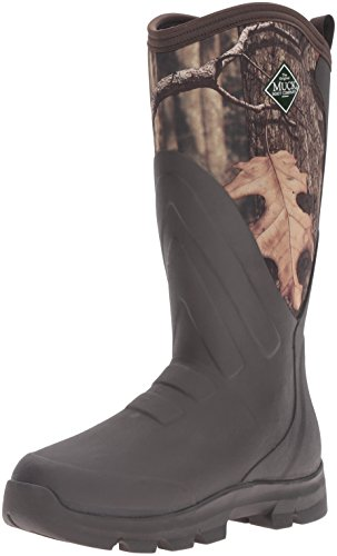 Image of the Muck Boot Men's Woody Grit Hunting Shoes, Brown/Mossy Oak, 13 US/13-13.5 M US
