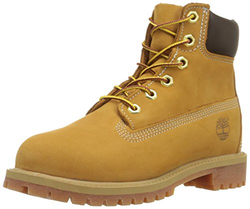 Image of the Timberland C12909 Kid's 6-Inch Premium Waterproof Boot, Wheat, 6 M US Big Kid