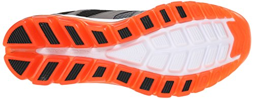 Image of the Skechers Sport Men's Skech Air 2.0 Brain Freeze Oxford,Charcoal/Orange,13 M US