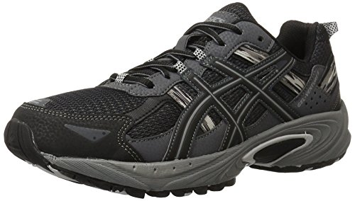 Image of the ASICS Men's Gel Venture 5 Running Shoe, Black/Onyx/Charcoal, 11 M US