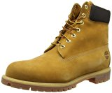Image of the Timberland Men's 6 inch Premium Waterproof Boot,Wheat Nubuck,8 M US