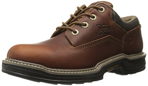 Image of the Wolverine Men's Raider Oxford Contour Welt Work Boot, Brown, 9 M US