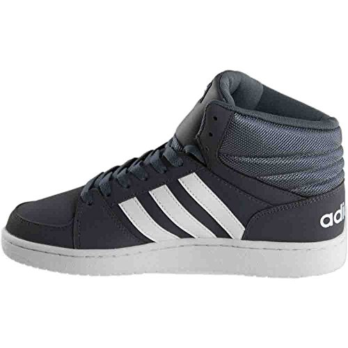 Image of the adidas Men's Vs Hoops Mid Fashion Sneakers, Onix/White/White, (10.5 M US)