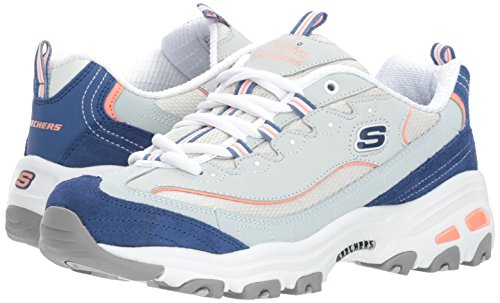Image of the Skechers Sport Women's DLites New Journey Sneaker,Light Blue Navy,8 M US