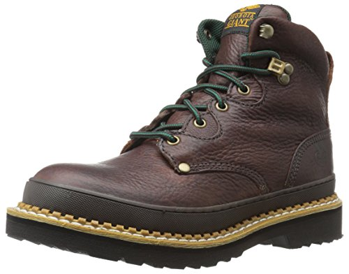Image of the Georgia G3374 Mid Calf Boot, Soggy Brown, 8 M US