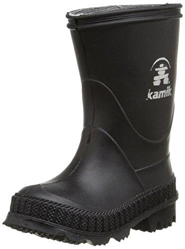 Image of the Kamik Stomp Rain Boot (Toddler/Little Kid/Big Kid), Black, 5 M US Big Kid