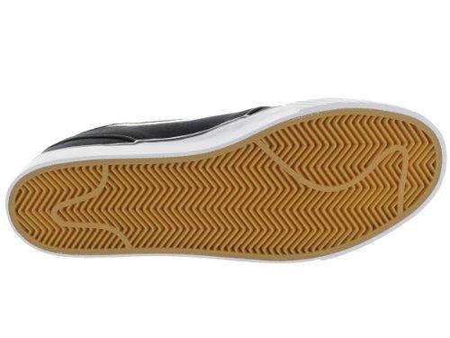Image of the Nike Men's Zoom Stefan Janoski CNVS Blk/White/Gm Lght Skate Shoe 10.5 Men US