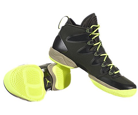 Image of the Nike Jordan Men's Air Jordan XX8 Se Sequoia/Volt Ice/Black/Mdm Khk Basketball Shoe 10.5 Men US