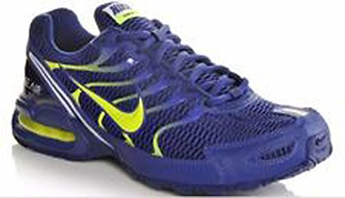 Image of the NIKE Men's Air Max Torch 4 Training Shoes (12 D(M) US, DEEPROYALBLUE/Volt/White)