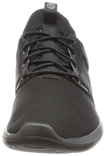 3bb9dbb046f2 Image of the Nike Mens Roshe Two Running shoe running shoe Black Black Black
