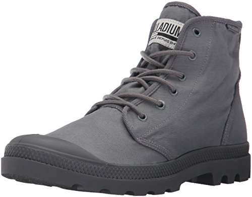 Image of the Palladium Men's Pampa Hi Originale Tc Chukka Boot, French Metal/Forged Iron, 8 M US