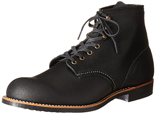 Image of the Red Wing Heritage Men's Blacksmith Lace Up, Black Spitfire, 8.5 D US