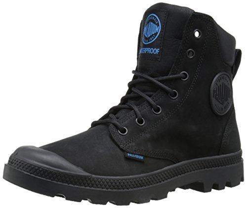 Image of the Palladium Men's Pampa Cuff WP Lux Rain Boot, Black, 10 M US