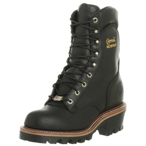 Image of the Chippewa Men's 25411 Super Logger Boot,Black Oiled,9 E US