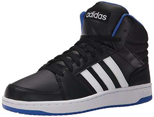 Image of the adidas Performance Men's Hoops Vs Mid Basketball Shoe,Black/White/Blue,11.5 M US