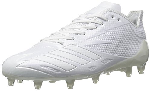 Image of the adidas Men's Adizero 5-Star 6.0 Football Shoe,White/White/White,13 M US