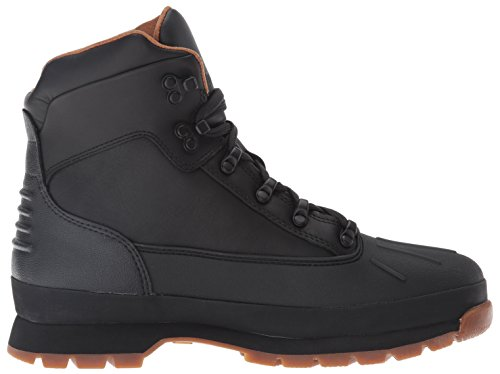 Image of the Timberland Men's Euro Hiker Shell Toe WP Winter Boot, Black TBL Forty Full Grain, 10.5 M US