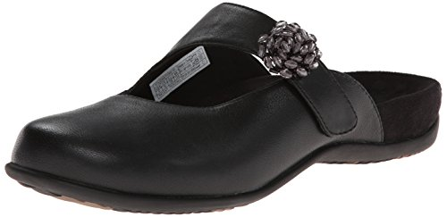 Image of the Vionic with Orthaheel Technology Women's Joan Mary Jane Mule,Black,US 8 M