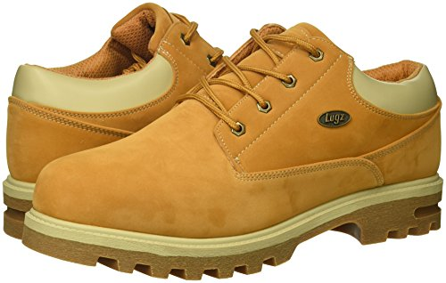 Image of the Lugz Men's Empire Lo WR Thermabuck Boot, Golden Wheat/Cream/Gum, 11 D US