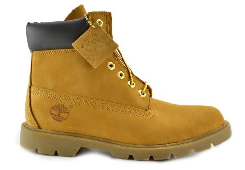 Image of the Timberland Men's 6-Inch Basic Waterproof Boots Wheat 18094 (8.5 D(M) US)