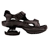 Image of the Z-CoiL Men's Sidewinder Black Sandal 10 E US