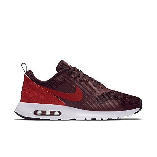 Image of the Nike Men's Air Max Tavas Running Shoes Maroon/Red/Black 9.5 M US