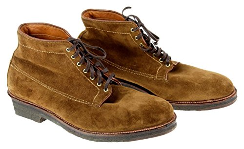 Image of the J Crew Alden Michigan Suede Boots Brown Size 11 New