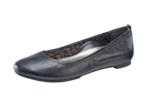Image of the Aetrex Women's Erica Ballet Flat, Black, 9.5 M US
