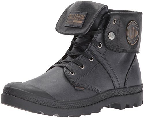 Image of the Palladium Men's Pallabrouse Baggy L2 Chukka Boot, Black, 12 M US