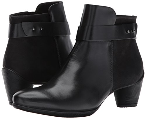 Image of the ECCO Women's Women's Sculptured 45 Boot Ankle Bootie, Black/Black, 40 EU/9-9.5 US