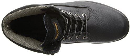 Image of the Wolverine Men's SR Durashock DS MNS 6 Inch Steel Toe EH Work Boot, Black, 10 M US