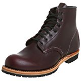 Image of the Red Wing Heritage Men's 6-Inch Beckman Round Toe Boot, Black Cherry Featherstone,9 D US