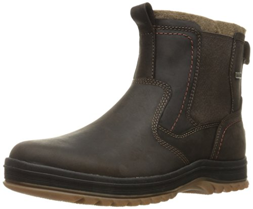 Image of the Rockport Men's World Explorer Chelsea Snow Boot- Dark Bitter Chocolate-8.5 M